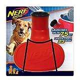 Lanzador de pelotas para perros Nerf