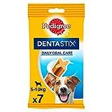 PEDIGREE Dentastix de Uso Diario para higiene Oral para Perros pequeños - Pack de 10 x 7 Sticks - Total: 70 Sticks