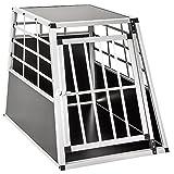 TecTake Transportín de Aluminio para Perros - Varias tamaños - (65x90x69,5cm | no. 400651)