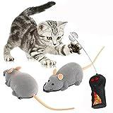 Ratón con control remoto para gatos Cisixin