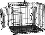 Transportín-jaula AmazonBasics (60 cm de largo - más tamaños disponibles)