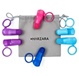 Harzara - Cepillo de dientes de dedo para perros