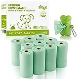 Bolsas para recoger caca de perro 100% biodegradables y compostables - BIOOK