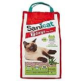 Sanicat Aloe Vera 7 días Arena para Gatos, 6 Libras