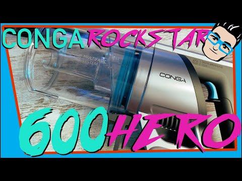 CONGA ROCKSTAR 600 HERO 🚀 Aspirador vertical POTENTE y BARATO