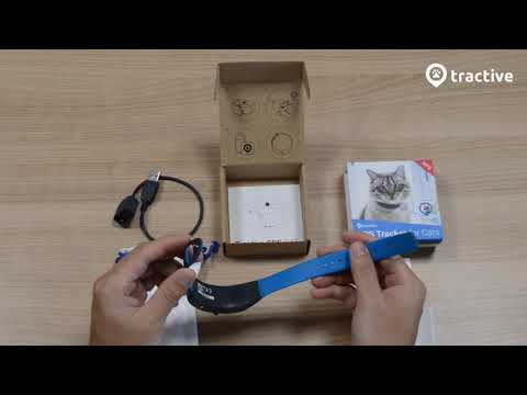 Tractive GPS CAT Unboxing (English)