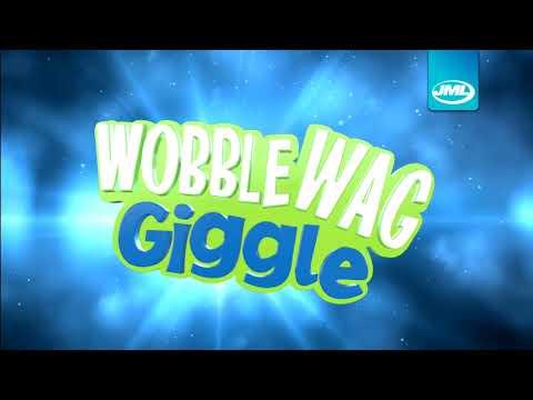 JML Wobble Wag Giggle Ball Dog Toy