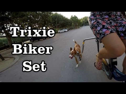 Como llevar perro en la bicicleta – Trixie Biker Set