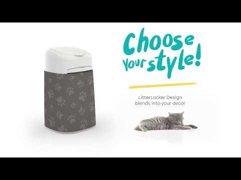 LitterLocker Design - Litter Cleaning Made Easy - English