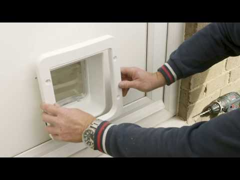 Microchip Pet Door and Microchip Pet Door Connect - Door Installation