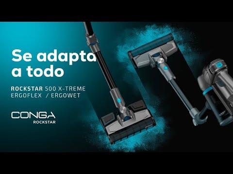 Aspiradores verticales Conga Rockstar 500 X-Treme ErgoWet y ErgoFlex