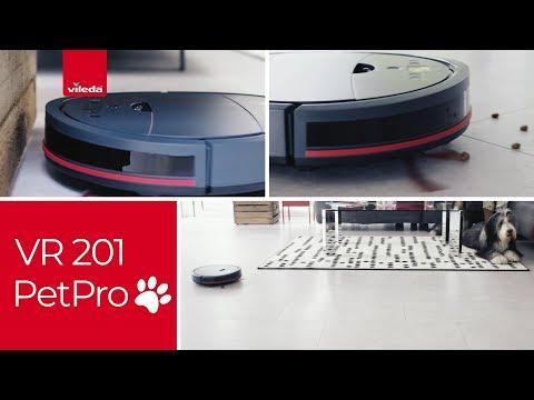 Vileda VR 201 PetPro vacuum robot