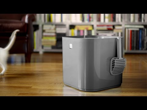Modkat Litter Box Commercial and Overview Video.