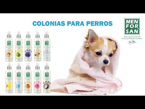 Gama de Colonias para perros MENFORSAN