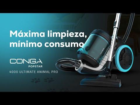 Aspirador de trineo Conga PopStar 4000 Ultimate Animal Pro