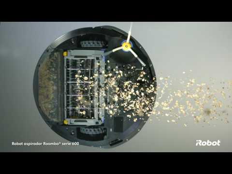 Roomba® 600 serie conectado a Wi-Fi Robot aspirador