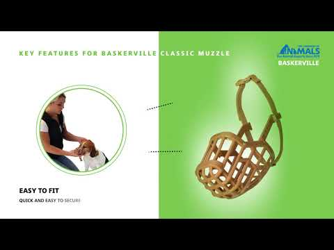 How to Fit The Baskerville Classic Muzzle