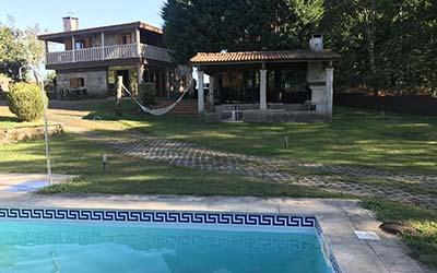 A Leira - Casa rural que admite mascotas en Pontevedra - Ponteareas (Galicia)