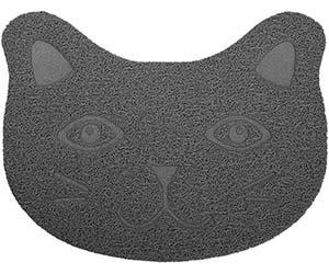 Alfombrilla para comedero de gato con diseño original - ANBET