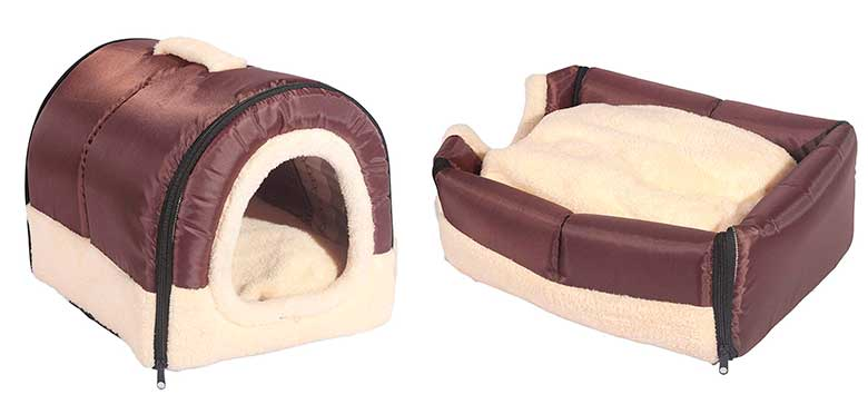 Cama tipo cueva para gatos - ANPI