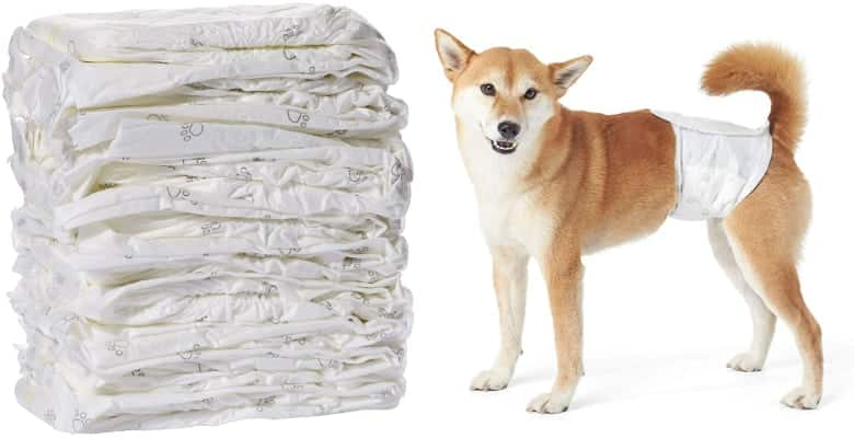 Disposable Diapers for Male Dogs