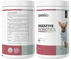 Probióticos digestivos masticables para perros - Animigo