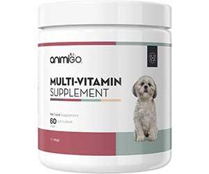 Suplemento multivitamínico para perros con glucosamina y condroitina - Animigo
