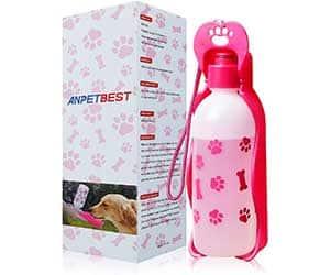 Botella de agua para perros con bebedero integrado - Anpetbest