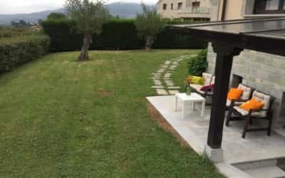 Apartamento con jardín privado admite perros en Oviedo