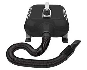 Secador profesional para perros - Artero Black 2 Motores