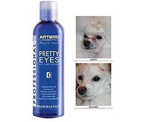 Artero Pretty Eyes - Limpiador para eliminar las manchas del lagrimal de perros y gatos