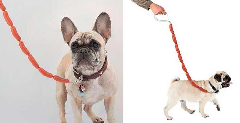 La correa más original para llevar a tu perro - Balvi HotDog