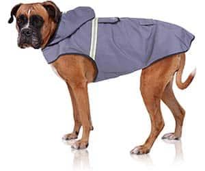 Chubasquero para perros - para utilizar con arnés y para clima suave - Bella & Balu
