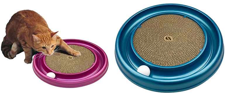 Rascador con pelota de juguete para gatos - Bergan OV Turbo
