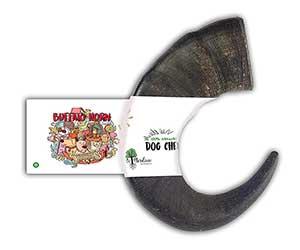 Cuerno de búfalo para perros - Bio Mordiscos