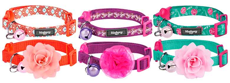 Collar original para gatos - Blueberry Pet