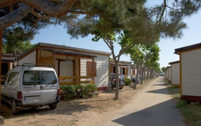 Bon Repós camping que acepta perros en Barcelona - Santa Susanna