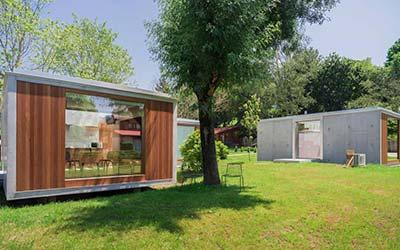 Bungalow Camping Los Manzanos - Camping para ir con perro en Galicia (Santa Cruz de Oleiros - A Coruña)