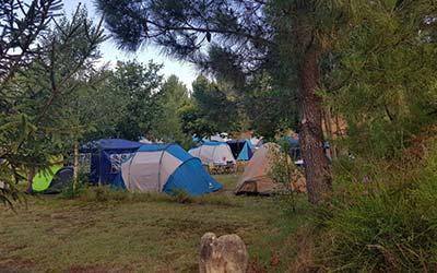 Camping Rural Ría de Arosa 2 - Camping que admite perros en Galicia (Ribeira - A Coruña)