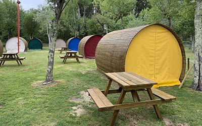 Camping Santa Tecla - Camping que acepta perros en Galicia (A Guarda - Pontevedra)
