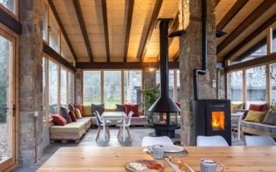Can Torrotes casa rural que acepta perros en La Vall de Bianya - La Garrotxa - Pirineo Catalán