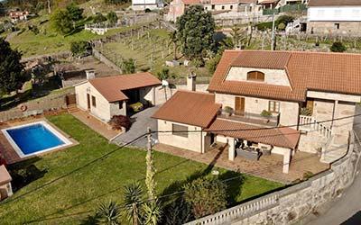 Casa Ameán - Casa rural que acepta perros en Pontevedra - Cerponzones (Galicia)