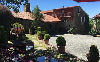 Casa Brandariz - Casa rural que admite mascotas en Galicia - Dombodán (La Coruña)