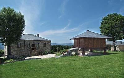 Casas do Cabo - Casa rural para ir con perro en Lugo - Vega de Logares (Galicia)