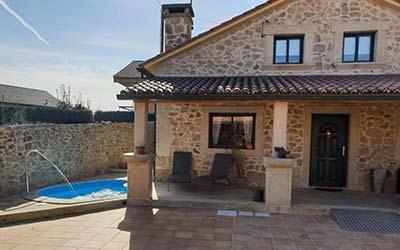 Casa Parrilla - Casa rural en Pontevedra que acepta perros - Tomiño (Galicia)