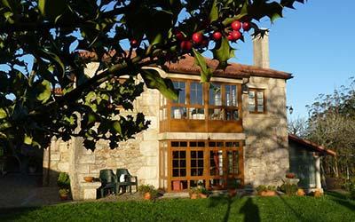 Casa de Trillo - Casa Rural que admite perros en Galicia (Rego de Santa Marina - A Coruña)