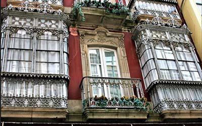 Casas modernistas en Ferrol