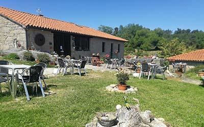 Caserío de Fontes - Casa rural para ir con perro en Ourense - Nogueira de Ramuín (Galicia)