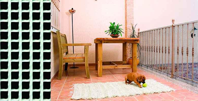 Malla de protección para evitar que el gato se caiga por las rejillas del balcón - Catral