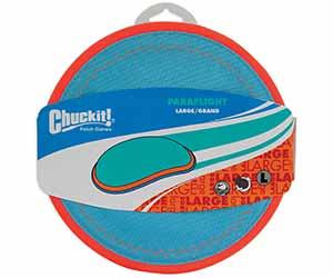Disco volador para perros fabricado en nylon y que flota en el agua - Chuckit! Paraflight